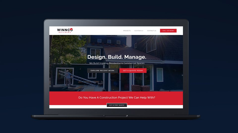 Winnco Builders Construction Website