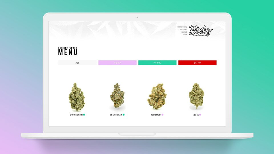 bixby-marijuana-cannabis-cbd-wordpress-web-design-by-paola-martin-at-powla